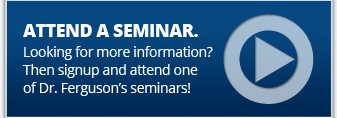 Click to view seminar dates and schedule to attend one of Dr. Ferguson's  bariatric seminars.